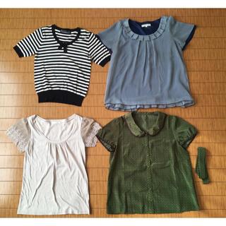 グローブ(grove)のトップス 4着まとめ売り(シャツ/ブラウス(半袖/袖なし))