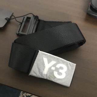ワイスリー(Y-3)のY-3 ワイスリー ロゴベルト 新品(ベルト)