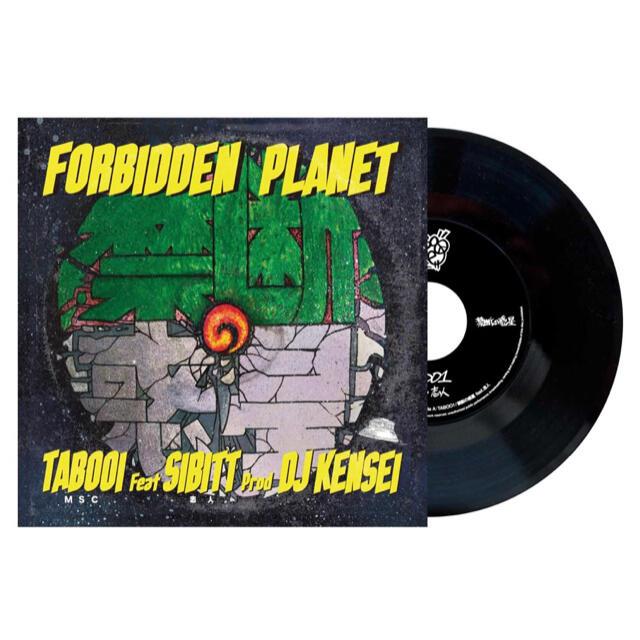 【値引不可】TABOO1 feat. 志人 / 禁断の惑星 [7INCH] チケットの音楽(その他)の商品写真
