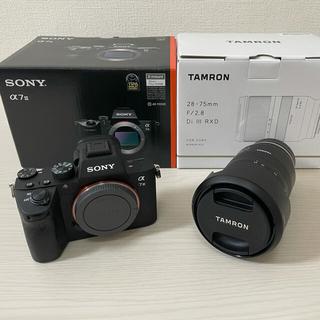 ソニー(SONY)のSONY a7iii ILCE-7M3 TAMRON28-75mm F/2.8 (ミラーレス一眼)