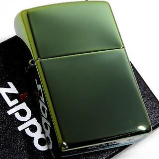 ジッポー(ZIPPO)の(送料込み)ZIPPO◇PVD・ジェイド◇新品◇ジッポ(タバコグッズ)