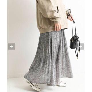 イエナスローブ(IENA SLOBE)のひめたん様専用 SLOBE IENA レオパードプリントプリーツスカート(ロングスカート)