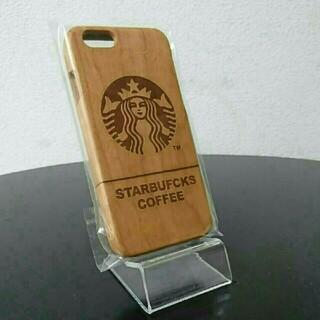 スターバックスコーヒー(Starbucks Coffee)のスターバックス ウッド iPhone6/6s ケース カバー (iPhoneケース)