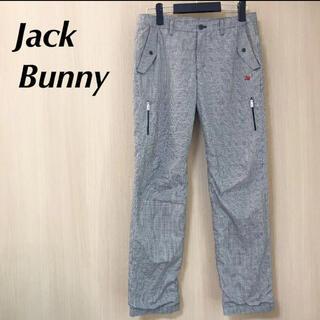 パーリーゲイツ(PEARLY GATES)のJack bunny ジャックバニー レディース 2 パンツ ナイロン L(ウエア)