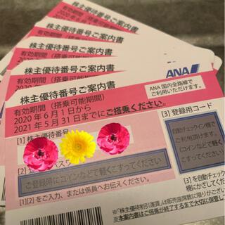 エーエヌエー(ゼンニッポンクウユ)(ANA(全日本空輸))のANA株主優待券 1枚 2021年5月末まで まとめ買い割引いたします(航空券)