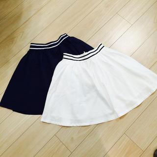 ワンアフターアナザーナイスクラップ(one after another NICE CLAUP)のナイスクラップ可愛い色違いスカートセット(ミニスカート)