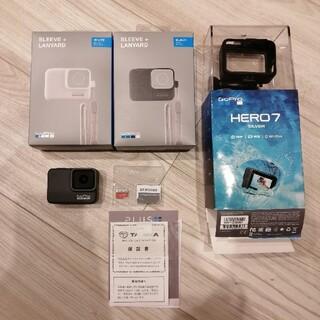 ゴープロ(GoPro)のGoPro HERO7 silver  32GBmicroSDカード付中古美品(コンパクトデジタルカメラ)