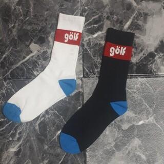 ゴルフワング GOLFWANG ソックス 靴下2足セット(ソックス)