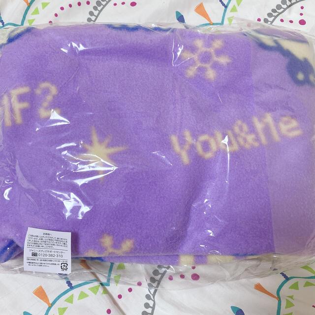Kis-My-Ft2(キスマイフットツー)のキスマイ ブランケット エンタメ/ホビーのタレントグッズ(アイドルグッズ)の商品写真