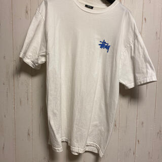 ステューシー(STUSSY)のステューシー STUSSY Tシャツ メンズ  サイズL 白(Tシャツ(半袖/袖なし))