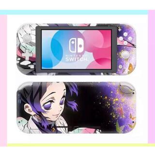 ニンテンドースイッチ(Nintendo Switch)の〖新品〗鬼滅の刃 任天堂SwitchLite 保護スキンシール《胡蝶しのぶ》(その他)