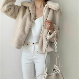 スタイルナンダ(STYLENANDA)のファージャケット (毛皮/ファーコート)
