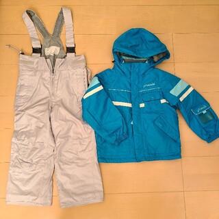 デサント(DESCENTE)のPHENIXスキーウェア110 青ブルーフェニックス(ウエア/装備)