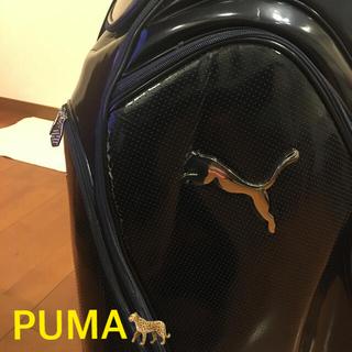 プーマ(PUMA)の超カッコ良い‼️ゴルフ⛳️PUMA🐆エナメルキャディバッグ (バッグ)