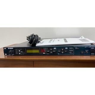 ヤマハ(ヤマハ)のYAMAHA SPX2000 マルチエフェクトプロセッサ(エフェクター)