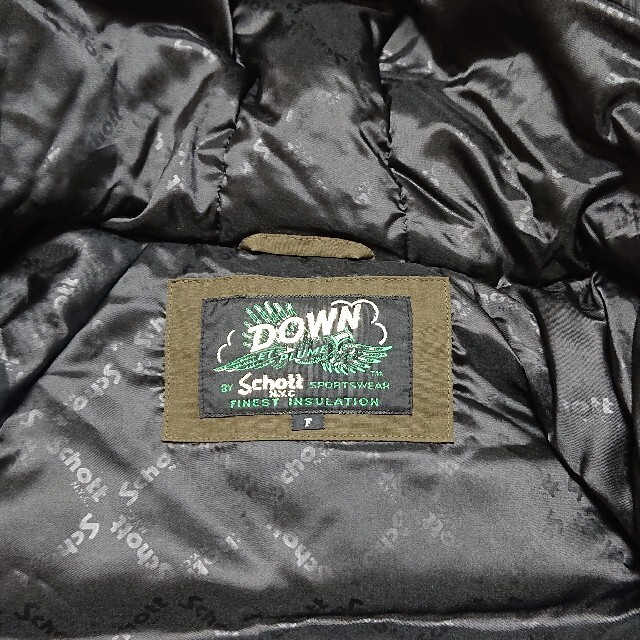 schott(ショット)の美品 SCHOTT ショット シュノーケルダウンパーカー ダウンジャケット レディースのジャケット/アウター(ダウンジャケット)の商品写真