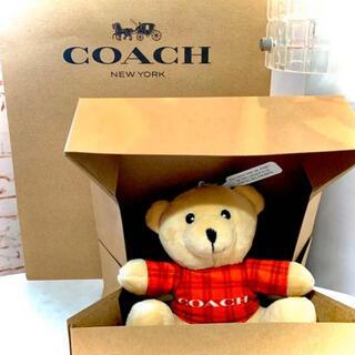 コーチ(COACH)の⭐️超レア・新品⭐️coach ぬいぐるみ キーホルダー くまさん(ぬいぐるみ)