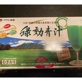 アサヒ(アサヒ)の緑効青汁 一箱(3.5g✖️90袋)(青汁/ケール加工食品)