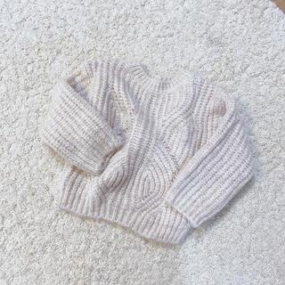 ザラキッズ(ZARA KIDS)の新品  ZARA BABY  ニットセーター 86cm(ニット/セーター)