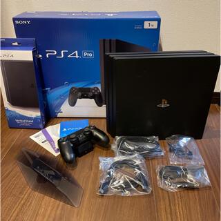 プレイステーション4(PlayStation4)のSONY PlayStation4 Pro 本体  CUH-7000BB01(家庭用ゲーム機本体)