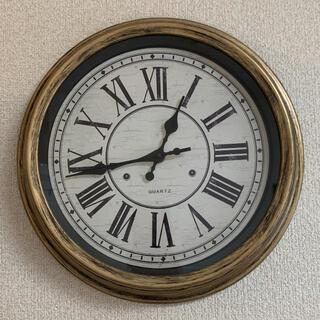 フランフラン(Francfranc)の美品 アンティーク時計 壁掛け時計(掛時計/柱時計)