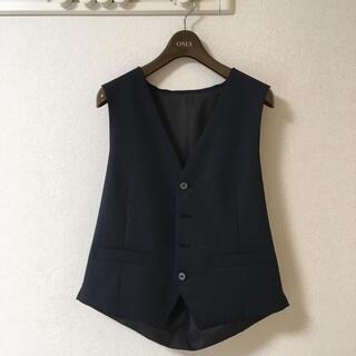 オリヒカ(ORIHICA)のスーツ ベスト 紺 新品未使用(スーツベスト)