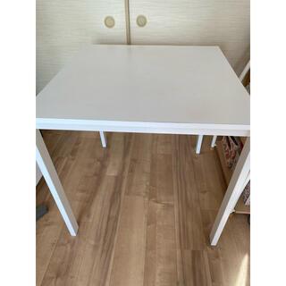 イケア(IKEA)のIKEA ダイニングテーブル 75×75(ダイニングテーブル)