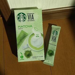 スターバックスコーヒー(Starbucks Coffee)の抹茶 スターバックス 4杯分(茶)