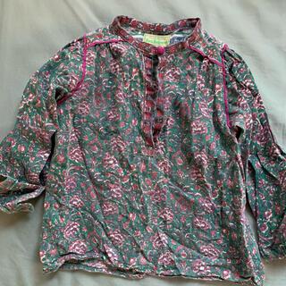 ゴートゥーハリウッド(GO TO HOLLYWOOD)のgotohollywood インド綿ブラウス(Tシャツ/カットソー)