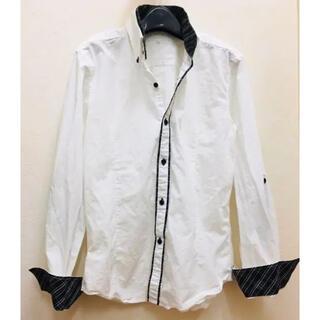 メンズスタイル 白シャツ LLサイズ(シャツ)