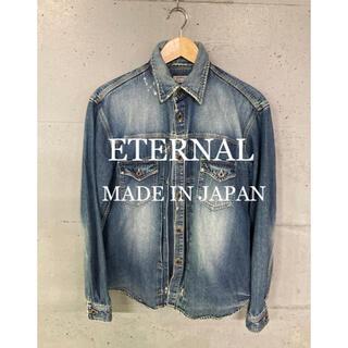 エターナルジーンズ(ETERNAL)のETERNAL デニムジャケット!日本製!(シャツ)