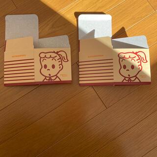 クツシタヤ(靴下屋)のオサムグッズ 箱⭐️OSAMU GOODS ボックス2個(キャラクターグッズ)