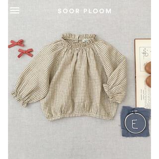 Caramel baby&child  - soor ploom  ギンガムブラウス 3y
