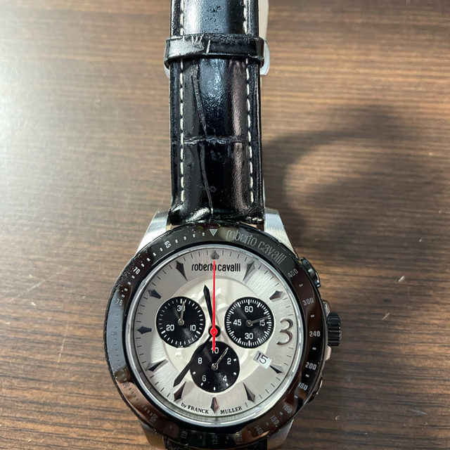 FRANCK MULLER(フランクミュラー)のロベルトカヴァリ byフランクミュラー メンズの時計(腕時計(アナログ))の商品写真
