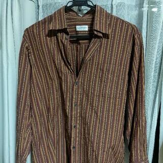 ランバン(LANVIN)のLanvin brown shirt(シャツ)