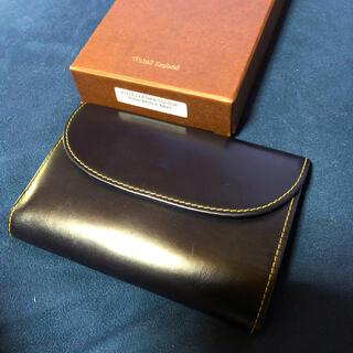 ホワイトハウスコックス(WHITEHOUSE COX)のホワイトハウスコックス WHC 三つ折り財布 ブライドル レザー(折り財布)