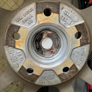 ニッサン(日産)のエルグランドe52用(タイヤ・ホイールセット)