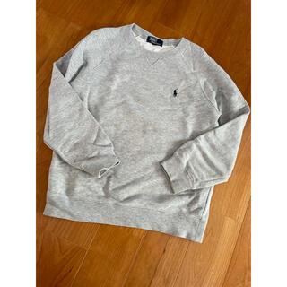 ラルフローレン(Ralph Lauren)のラルフローレン  130 グレー スウェット トレーナー(Tシャツ/カットソー)