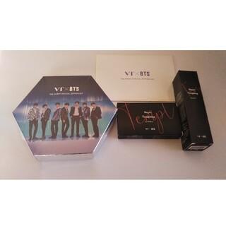 ボウダンショウネンダン(防弾少年団(BTS))のBTS×VT スペシャルエディションセット &アイパレット &フィクサー&カード(アイドルグッズ)