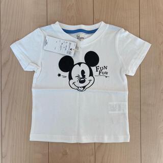 コーエン(coen)の新品 coen ディズニー ミッキー コラボ Tシャツ 100 男の子 女の子(Tシャツ/カットソー)