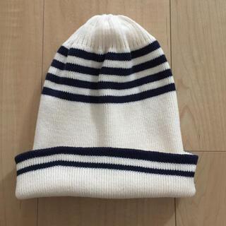 ジーユー(GU)のGU  ニット帽 ニットキャップ  キッズ(帽子)