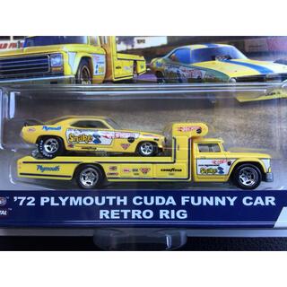 ホットウィール チーム トランスポート  '72プリムス クーダ ファニーカー