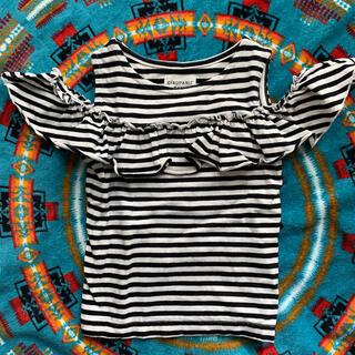 チャオパニックティピー(CIAOPANIC TYPY)のCIAOPANIC TYPY kids ボーダーT 100(Tシャツ/カットソー)