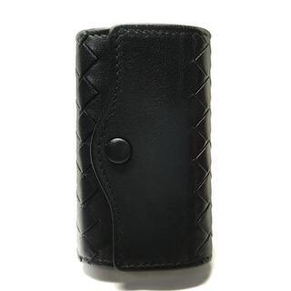 ボッテガヴェネタ(Bottega Veneta)のボッテガヴェネタ キーケース 黒 5連フック(キーケース)