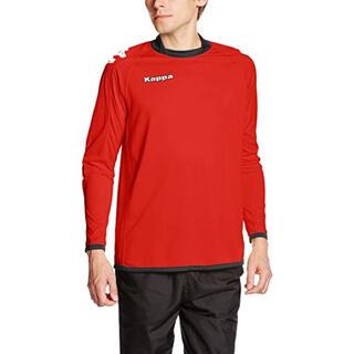 カッパ(Kappa)の新品タグ付き Kappa カッパ ゴールキーパーシャツ レッド  Sサイズ(ウェア)