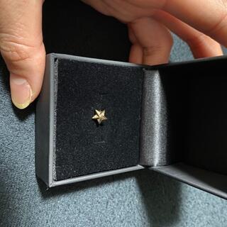 アヴァランチ(AVALANCHE)のAVALANCHE ダイヤモンド10K イエローゴールドピアス(ピアス(片耳用))
