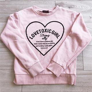 ラブトキシック(lovetoxic)のラブトキシック トレーナー s(トレーナー/スウェット)