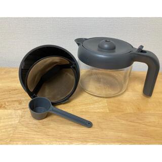 デロンギ(DeLonghi)の【rkt様専用】デロンギ Kmix  コーヒーメーカーのガラスジャグと(コーヒーメーカー)