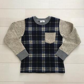 ミアリーメール(MIALY MAIL)のミアリーメール 裏起毛 ニット トレーナー 130 丸高衣料(Tシャツ/カットソー)