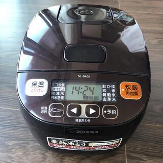 ゾウジルシ(象印)の炊飯器 ZOJIRUSHI NL-BA05-TA(炊飯器)